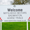 Welcome to the Mitsubishi Motors Badminton Horse Trials