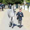 The World no.1 is through the final horse inspection