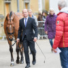 Michael Jung and 'La Biosthetique Sam FBW' looking fresh at the final horse inspection