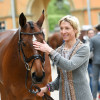 Ingrid with a lotta' love for 'Horseware Hale Bob OLD'