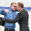 Gareth Hughes gives Jonty a hugeeee hug