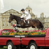 1999  Winner Ian Stark riding Jaybee -jump the Pick-Ups in front of Badminton House