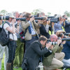 A photographers dream at the 25th anniversary event of Mitsubishi Motors sponsorship of Badminton Horse Trials