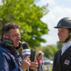 Harry Dzenis is interviewed for Radio Badminton by Spencer Sturmey