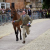 Joseph Murphy with Sportsfield Othello IRL at the first trot up