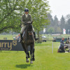 Eventual winner of the Burghley Young Event Horse Class, Samantha Mcleod riding Kincooley