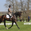 4yr old Mister Note, ridden by Thomas Windsor-Clive and owned by Mrs Windsor-Clive who also owned the horses dam Miss De Meena who competed here at 'Big' Badminton, ridden by Chris King