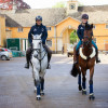 Australian riders Bill Levett and