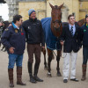 Gabriel Silva Cury will ride Grass Valley, Sir Mark Todd's former ride