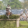 Sam Griffiths (AUS) and Happy Times in 8th place at the end of the XC