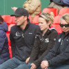 Tim Price and team watch Jonelle Price's test