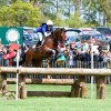 Sarah Cohen & Treason fly over the Rolex Grand Slam Triple Bar