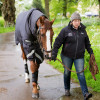 Jackie Potts with Chilli Morning, William Fox-Pitt's horse