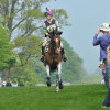 Laura Shannon approaches fences 7 & 8