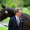 Ludwig Svennerstal riding King Bob SWE at the first trot up