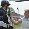 Clare Balding interviews William Fox-Pitt after his XC round