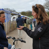 Pippa Funnell with William Fox-Pitt's wife Alice Plunkett