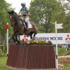 Izzy Taylor and Briarlands Matilda flying through the air