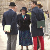 The ground Jury chatting with our two vets at the trot up