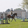 Iconic backdrop for the Burghley Young Event Horse classes