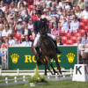 Nicola Wilson riding Bee Diplomatic