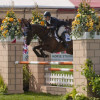 Lucinda Fredericks riding Prada and finishing 16th