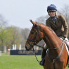 Lucy Loughton with the handsome Woodfalls Brook, 4th.