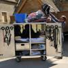 A competitors tidy tack box