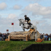 Andrew Nicholson (NZL) jumps into the quarry with Avebury