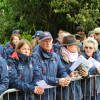 Team GBR who support the British eventing team