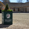 The main stables courtyard