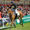 Oliver Townend (GBR) riding Armada    at Badminton
