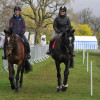 Team Scotland! Charlotte Agnew with Emily Galbraith