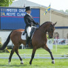 Aoife Clark from Ireland riding Master Crusoe