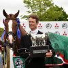 William Fox-Pitt (GBR) riding Chilli Morning  winner the Badminton Horse Trials 2015 with the Mitsubishi Motors Trophy