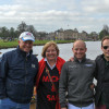 Michael Jung with his family at the Lake