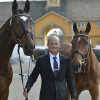 Michael Jung (Germany) with his two horses