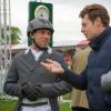 Sam Griffiths with Christopher Burton