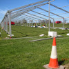 Rural Crafts - the largest tent on the showground - on the way up