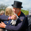 A big hug after Christopher Burton's test on TS Jamaimo