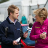 Role reversal, Clare Balding is interviewed