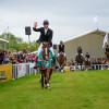 William Fox-Pitt leads the lap of honour