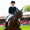 Sara Algotsson Ostholt moves in to 5th place after her dressage