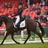 Aoife Clark (IRL) riding Vaguely North