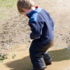 Puddles are fun!