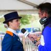 Merel Blom is interviewed