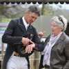 "Andrew Nicholson with Rosemary Barlow - ""I could do with a new watch…..a Rolex would be nice!"""