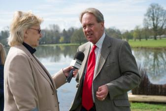 Hugh Thomas is interviewed