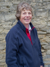 Pam Twissel has been part of the Badminton administration team for many years