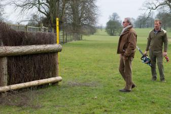 Giuseppe assesses the new hedge